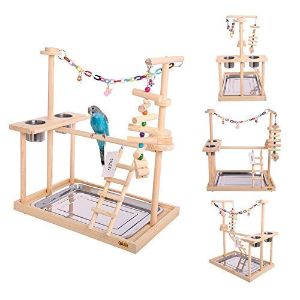 QBLEEV Parrot Playstand