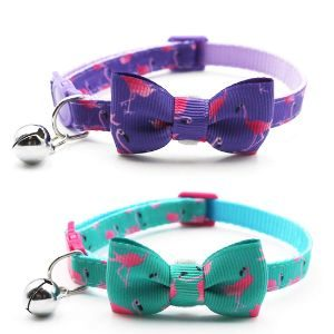 Azuza Cat Collar With Bowtie