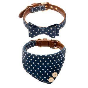 EXPAWLORER Bow Tie Collar