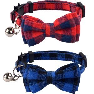 Lamphy Cat Collar With Bow Tie