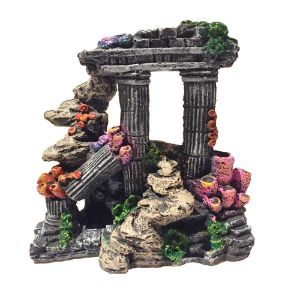 Evergreen Simulation Roman Column Ornament