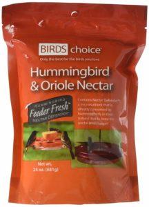 Birds Choice Oriole And Hummingbird Nectar