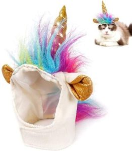 Ausein Pet Unicorn Hat