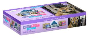 Blue Buffalo Wilderness Natural Kitten Pate Wet Cat Food