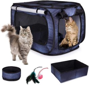 CHEERING PET Portable Travel Cage