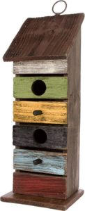 Carson Home Accents Vintage Tall Birdhouse
