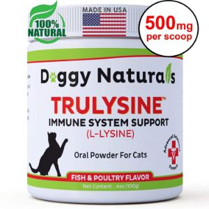 Doggy Naturals L-Lysine Oral Granule Powder