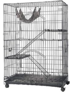 Homey Pet Wire Cat Cage