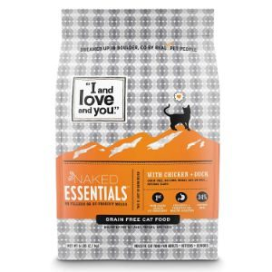 I and love and you Naked Essentials Chicken & Duck Grain Free Dry Cat Food