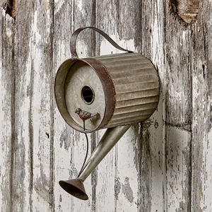 Lakeside Collection Watering Can Birdhouse