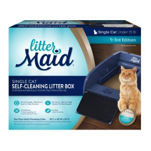 LitterMaid Single Cat Self Cleaning Litter Box