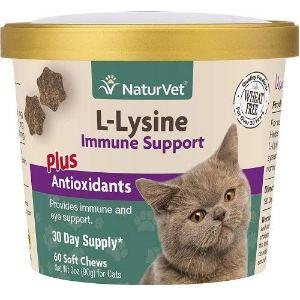 NaturVet L-Lysine Immune Support