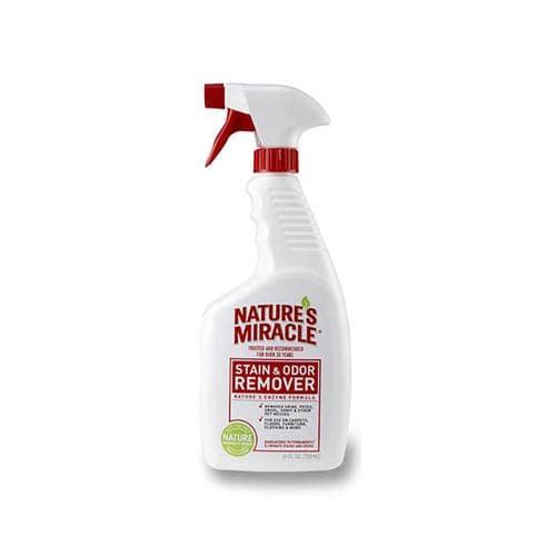 cat spray odor removal outside