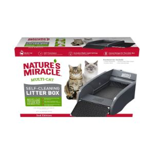 Nature's Miracle Multi Cat Self Cleaning Litter Box
