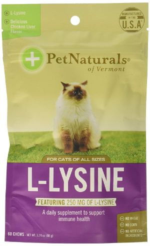 Pet Naturals of Vermont Lysine Chews