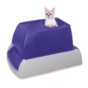 PetSafe ScoopFree Ultra Automatic Self Cleaning Hooded Litter Box – Top Entry
