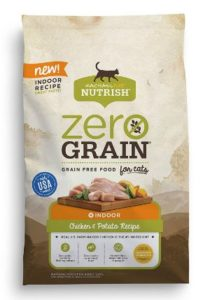 Rachael Ray Nutrish Zero Grain Dry Cat Food for Indoor Cats