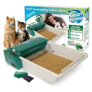 SmartScoop Basic Green Self Scooping Litter Box