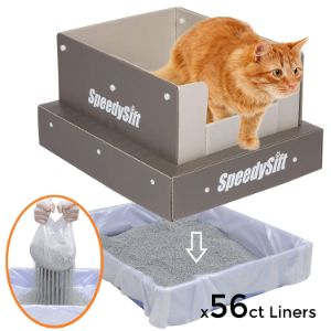 SpeedySift All Plastic Litter Box