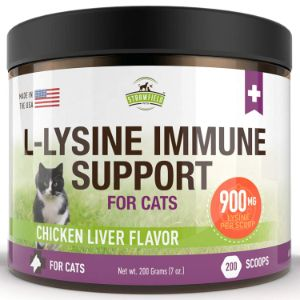 Strawfield Pets L-Lysine Powder Supplements