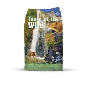 Taste of the Wild Grain Free High Protein Rocky Mountain Dry Cat Food