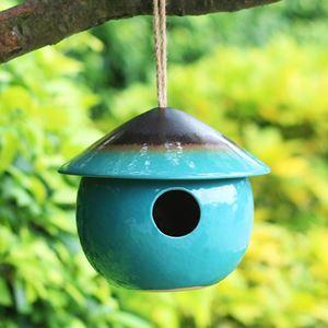 Tenforie Ceramic Bird House