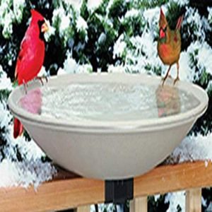 Allied Precision Industries Mounted Heated Bird Bath