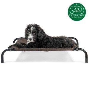 Furhaven Elevated Dog Bed