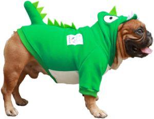 iChoue Pet Hoodie Dinosaur Costume
