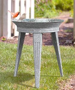 Panacea Vintage Metal Bird Bath