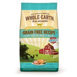 Whole Earth Farms Grain Free Recipe Dry Cat Food