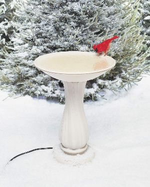 API Heated Bird Bath with Pedestal-min