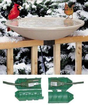 BestNest API 650 Deck Mounted Heated Bird Bath-min