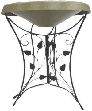 Birds Choice HPEDIL-GR Ivy Pedestal Heated Bird Bath-min