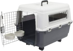 Chesapeake Bay Heavy-Duty Rolling Airline Pet Crate