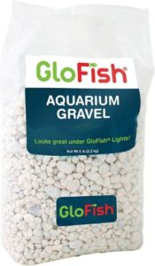GloFish Aquarium Gravel in White