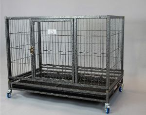 Homey Pet Open Top Heavy Duty Dog Pet Cage