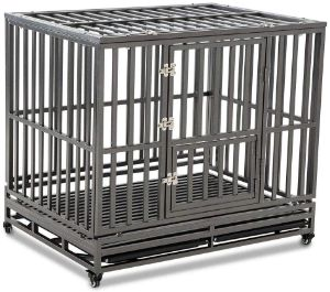 LUCKUP Heavy Duty Dog Crate