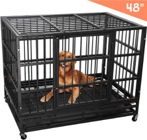 Lemberi Heavy Duty Dog Crate