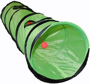 Shop4Omni Kitty Cat Play Tunnel