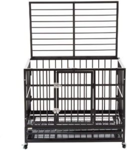 Silverylake heavy duty XL dog crate