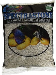pectrastone Special White Aquarium Gravel for Freshwater Aquariums