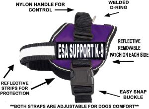 Doggie Stylz ESA Nylon Dog Vest