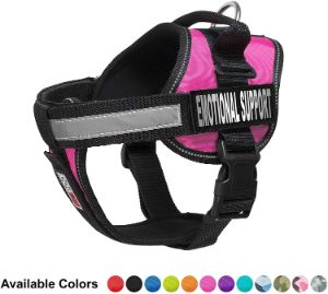 Dogline Unimax Dog Harness Vest with Emotional Support Patches