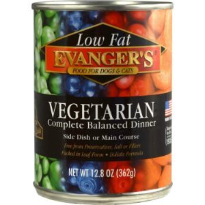 Evanger's Grain-Free Single Protein Vegetarian