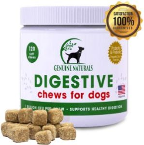Genuine Naturals Digestive Supplement for Dogs
