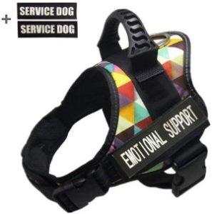 GOLDBELL Service Dog Harness