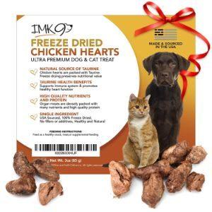 IMK9 All Natural Chicken Heart Treats