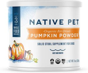 Native Pet Organic Pumpkin for Dogs