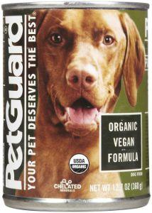 PetGuard Organic Vegan Entree